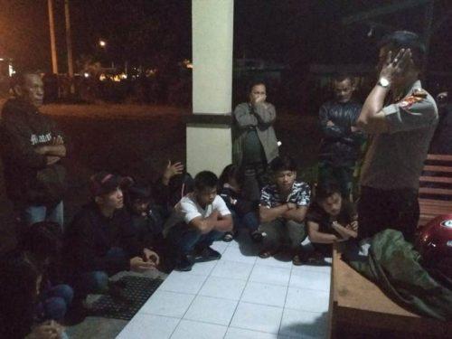 Gelar Razia, Polisi Amankan 10 Remaja