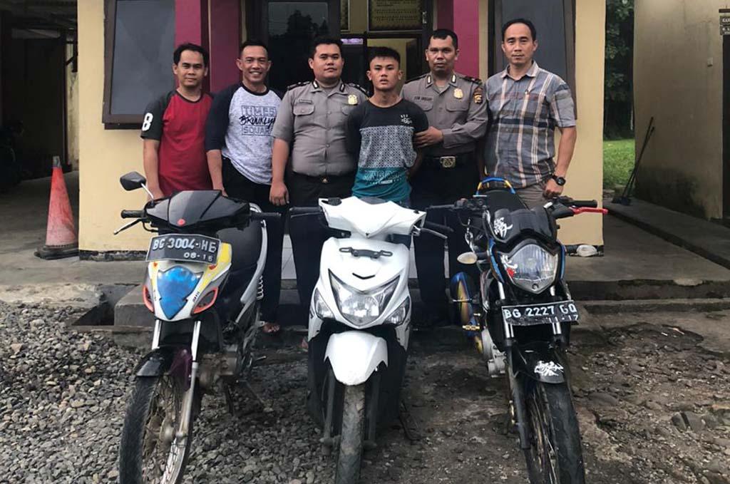 Terlibat Curanmor, Pemuda Binduriang Ditangkap