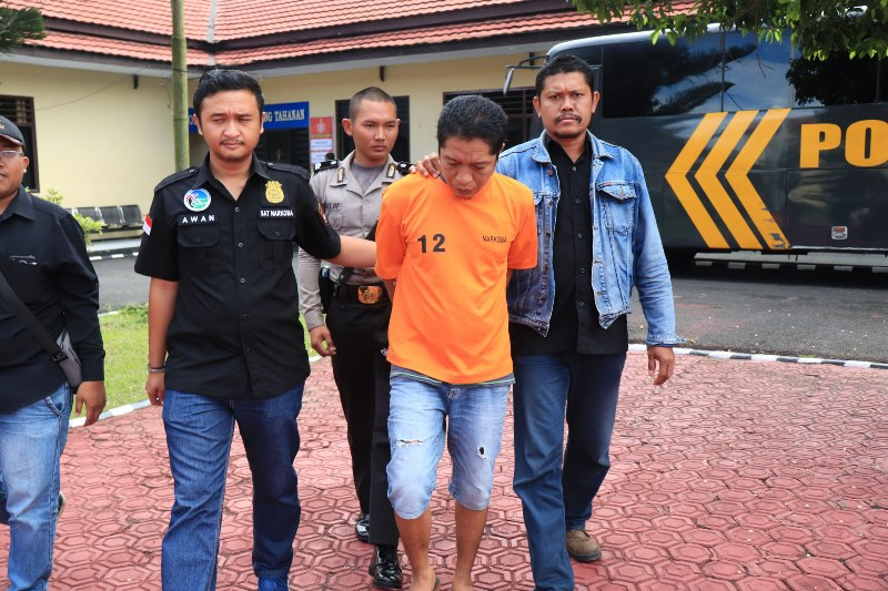 Edarkan Ganja, Sopir Angkot ditangkap