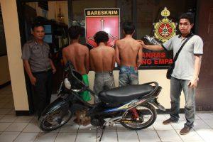 3 Tsk Curanmor Di bekuk Polisi
