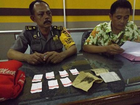 Kembali , Polres Bengkulu Selatan amankan 1 Paket Ganja