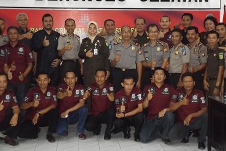 Bahas SPDP, Polres Rakor Bersama Kejaksaan dan Pengadilan Bengkulu Selatan