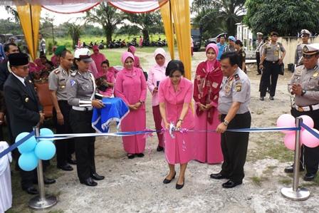 Kunker : Kapolda Resmikan Taman Lalu Lintas Di Bengkulu Selatan