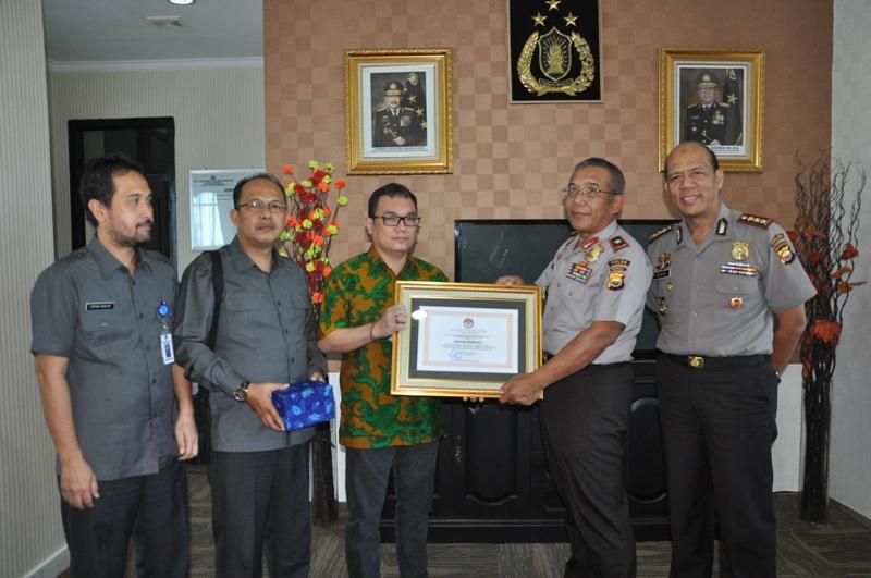 KPU Dan Bawaslu Beri Penghargaan Polda Bengkulu