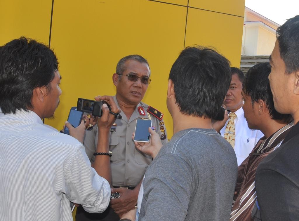 Polisi Mulai buru Pelaku Kerusuhan
