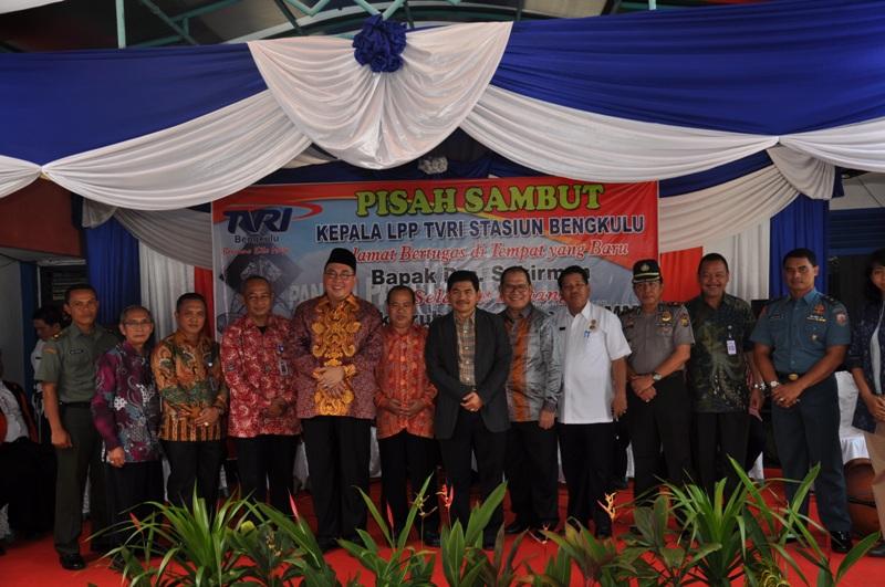 Pisah Sambut Kepala LPP TVRI Bengkulu