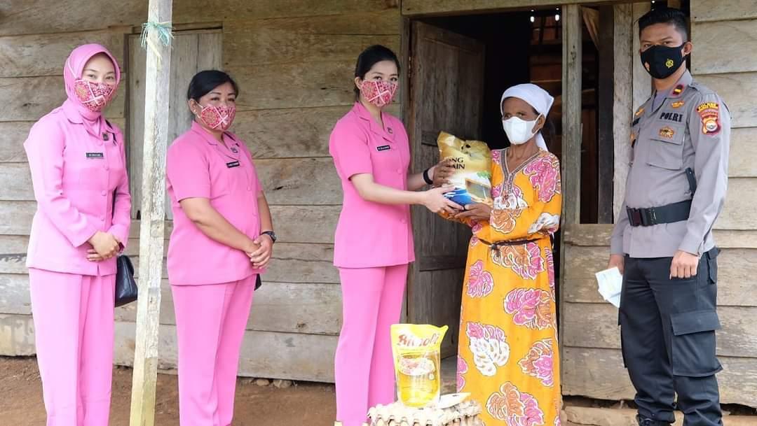 Kepedulian Ditengah Pandemi, Polsek Pagar Jati Gelar Polri Berbagi
