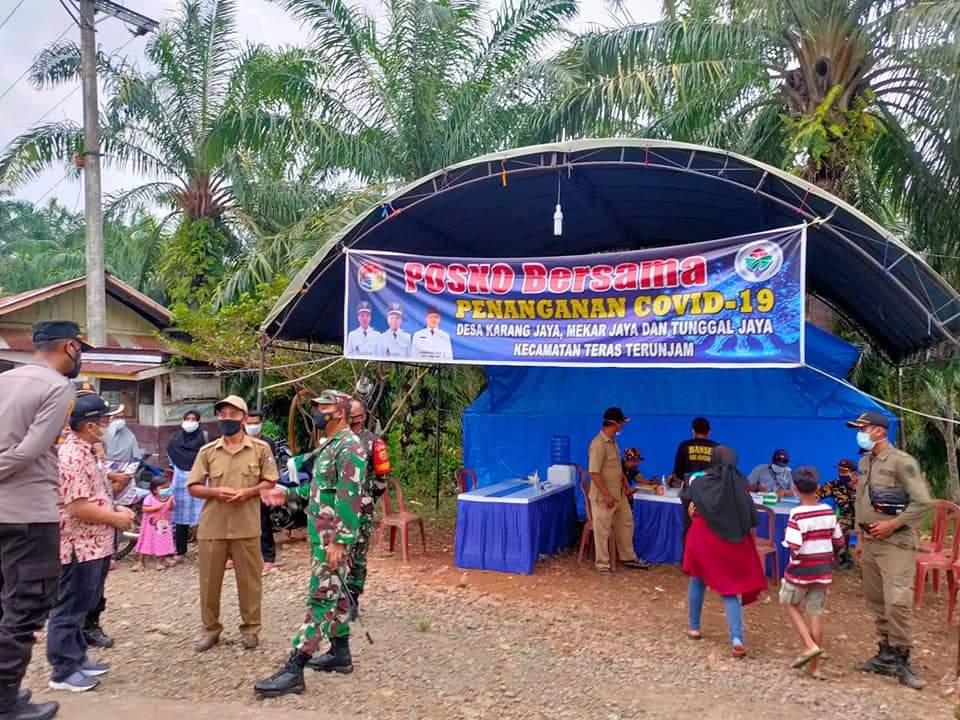 Kompak Tangani Covid-19, Bupati dan FKPD Mukomuko Kunjungi Posko PPKM Mikro