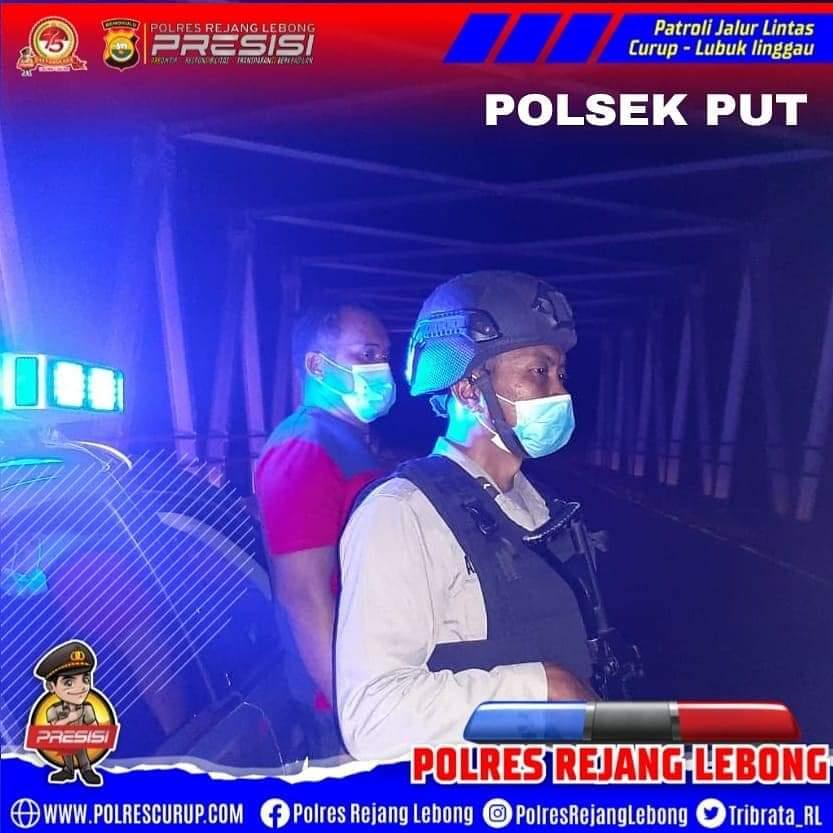 Pengamanan Jalur PUT, Polres RL Gelar Patroli Berintegrasi