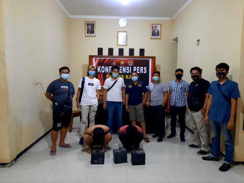 Curi Aki Pembangkit Listrik, 2 Pelajar Ditangkap Polisi