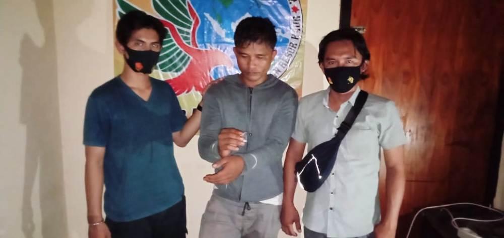 Simpan Sabu di Parkiran Pasar, Pemuda Maje Ditangkap Polisi