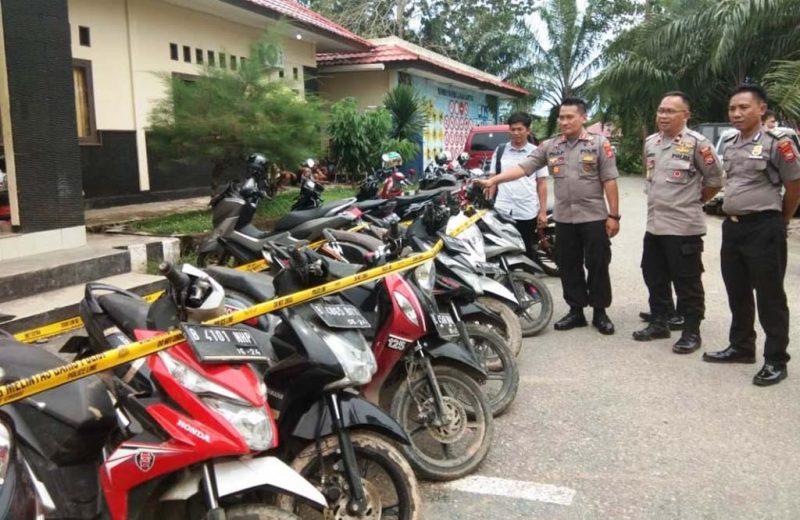 Polres Kaur Gagalkan Penyelundupan Motor Bodong