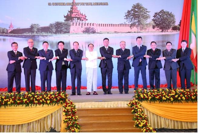 Kapolri Pimpin Delegasi RI Dalam 12th AMMTC 2018 di Nay Pyi Taw, Myanmar