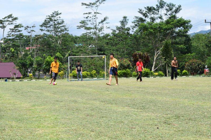 Siapa Saja Boleh Main Futsal Di Mapolres