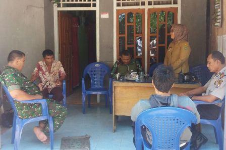 Kapolsek Pino : Polri Siap Membantu Pelaksanaan TMMD Di Desa Sebilo, Kecamatan Pino