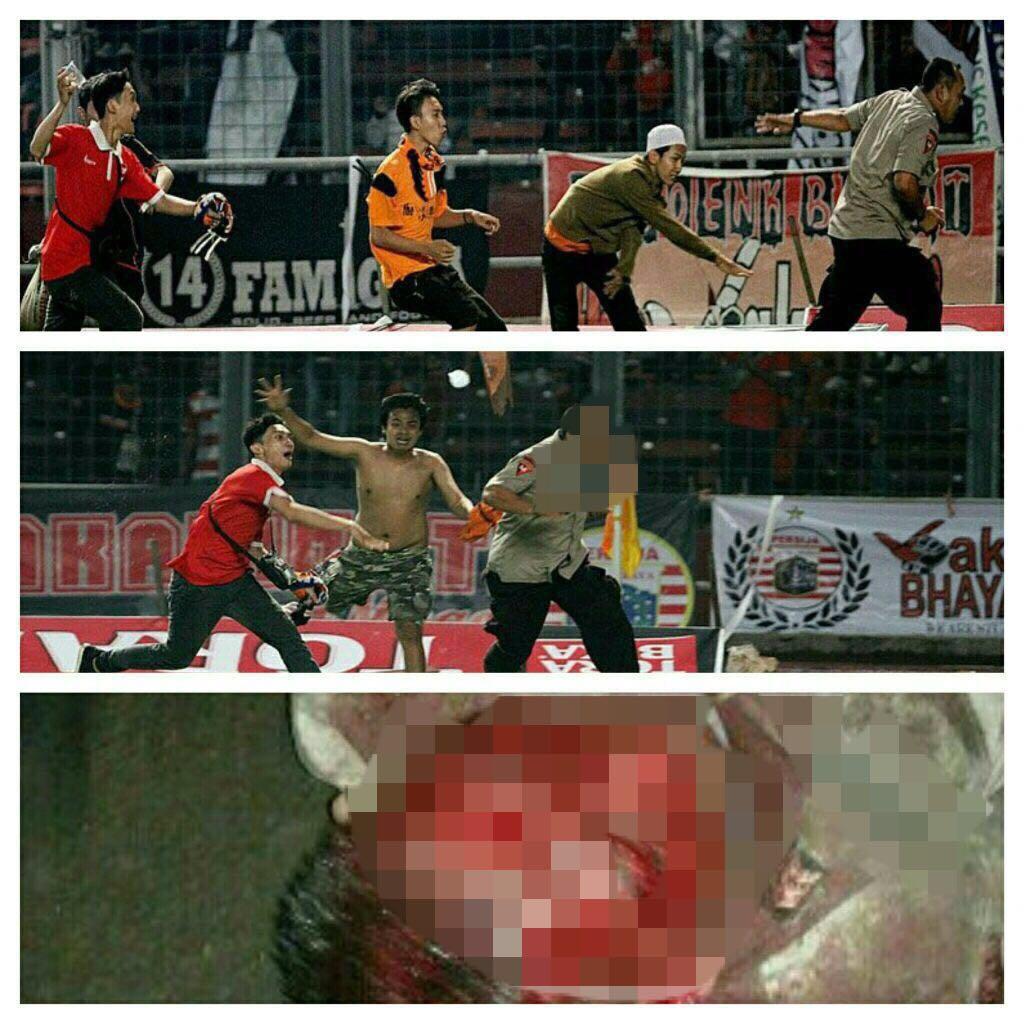 Jakmania Coreng Sepak Bola Indonesia