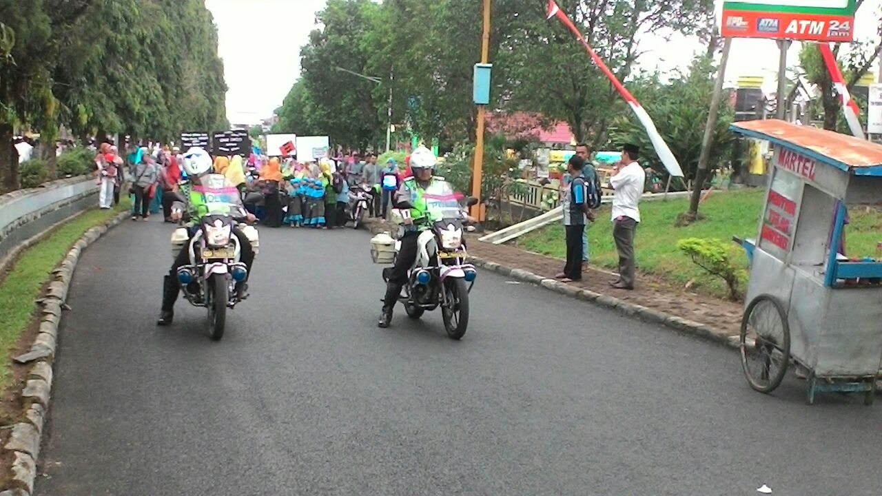 Polisi Kawal Pawa Ta'aruf Kabupaten Bengkulu Utara