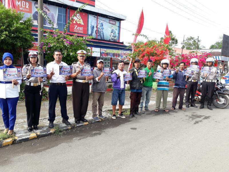 Polres Kepahiang Kampanye Satu Hari Satu Ide Untuk Keselamatan Berlalu Lintas