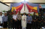 Tim patroli ke sejumlah Gereja dan pos pengamanan