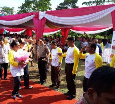Polres Seluma Berikan Pengamanan Kunjungan Menteri