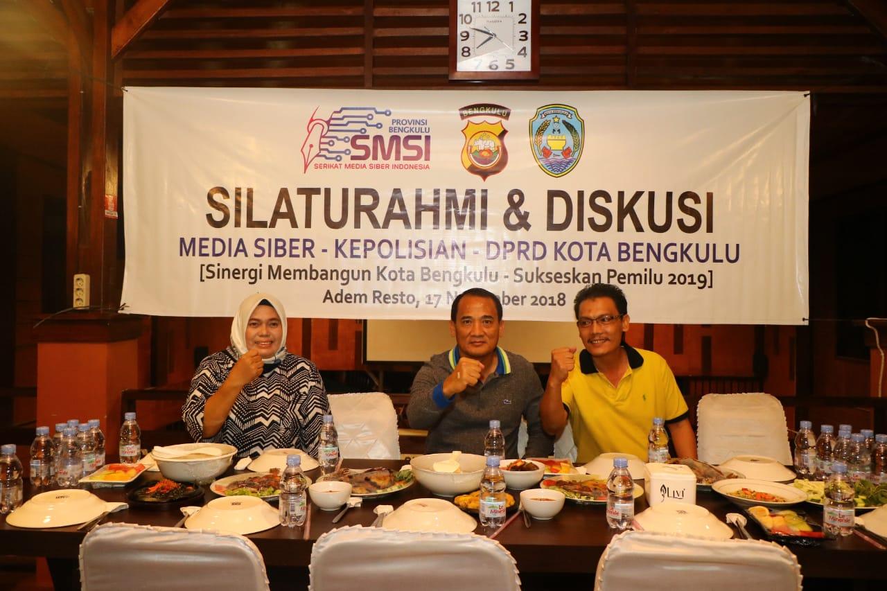 Sinergi Membangun Bangsa, Kapolda Bengkulu Silaturahmi dengan SMSI dan DPRD Kota Bengkulu