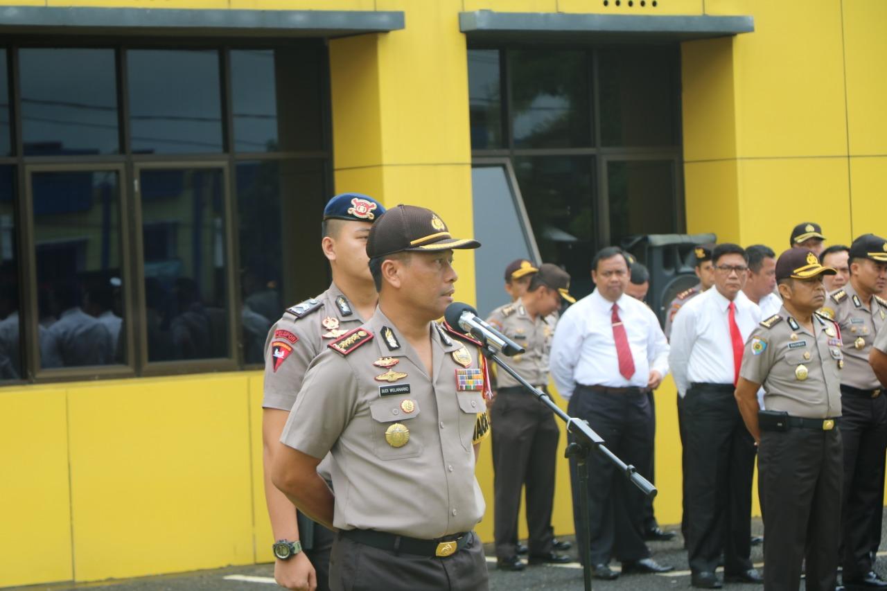 Wakapolda Bengkulu Ingatkan Anggota Untuk Perkuat Kekompakan Kesatuan
