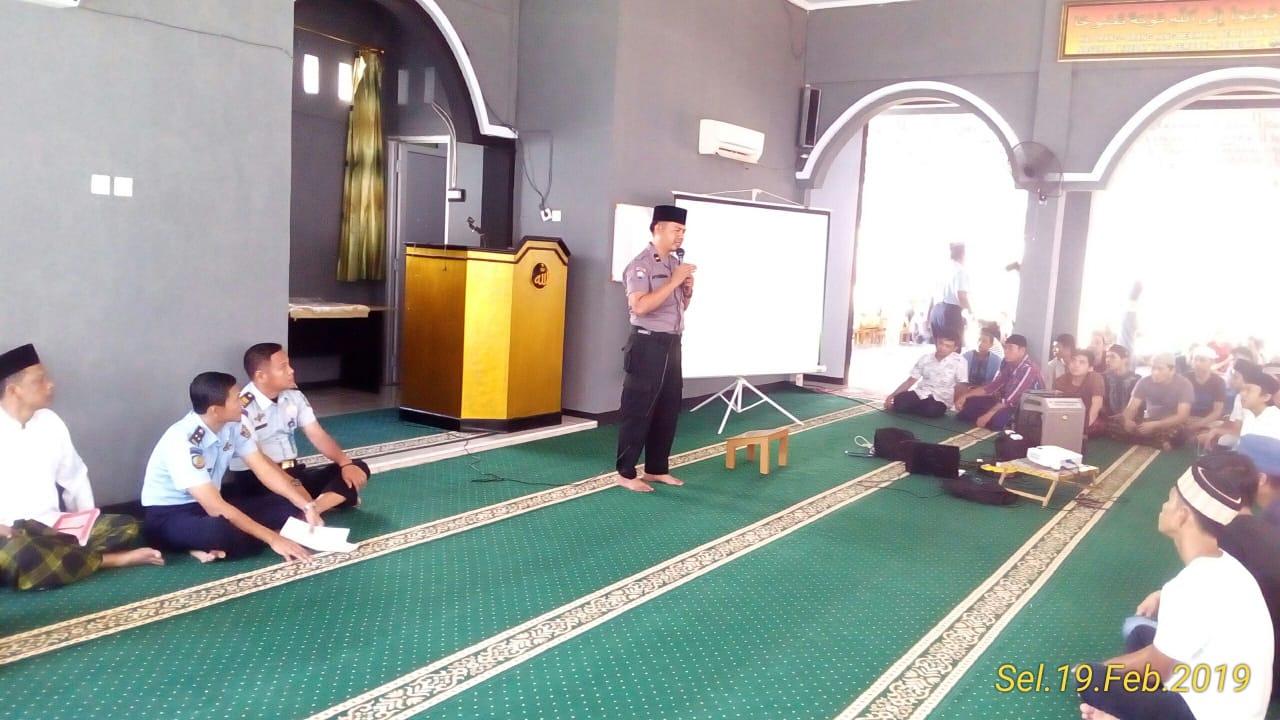 Penyuluhan di Lapas Kota Bengkulu, Ipda Nyarna Sampaikan Materi Revolusi Mental