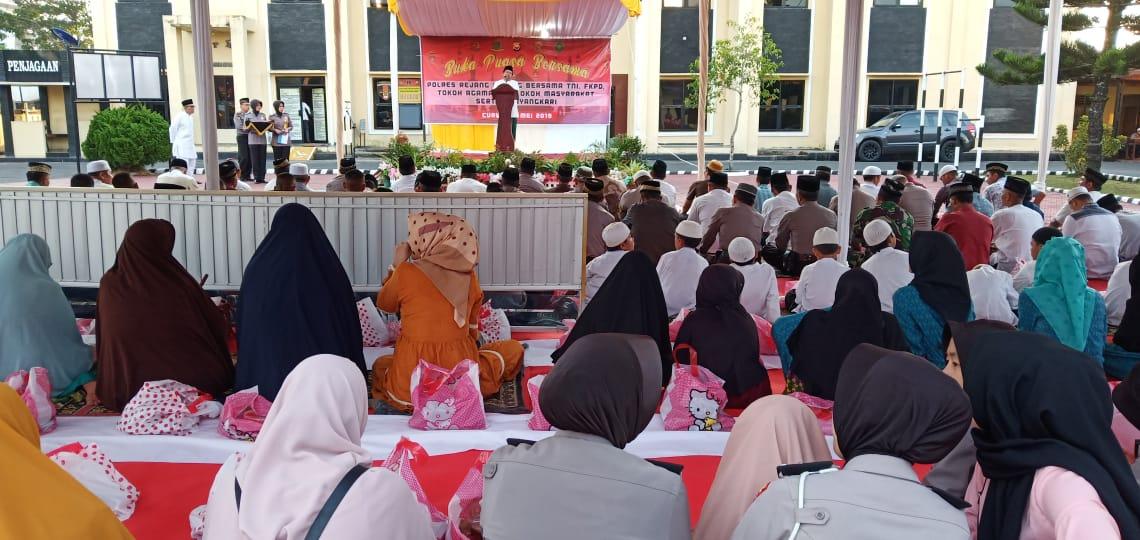 Buka Bersama Polres Rejang Lebong Bersama TNI, FKPD, Tokoh Agama dan Tokoh Masyarakat
