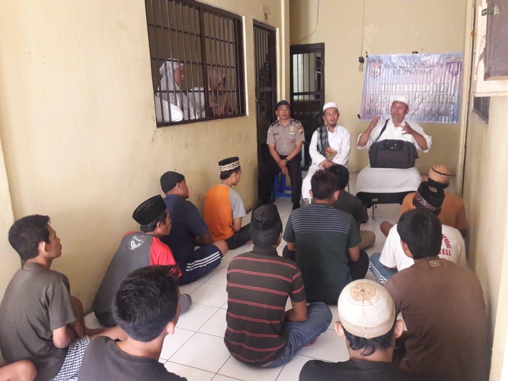 Binrohtal Tahanan, Polres Kepahiang Gandeng Da'i Kamtibmas