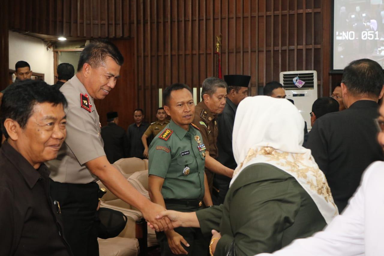 Kapolda Hadiri Rapat Paripurna Pemilihan Wakil Gubernur
