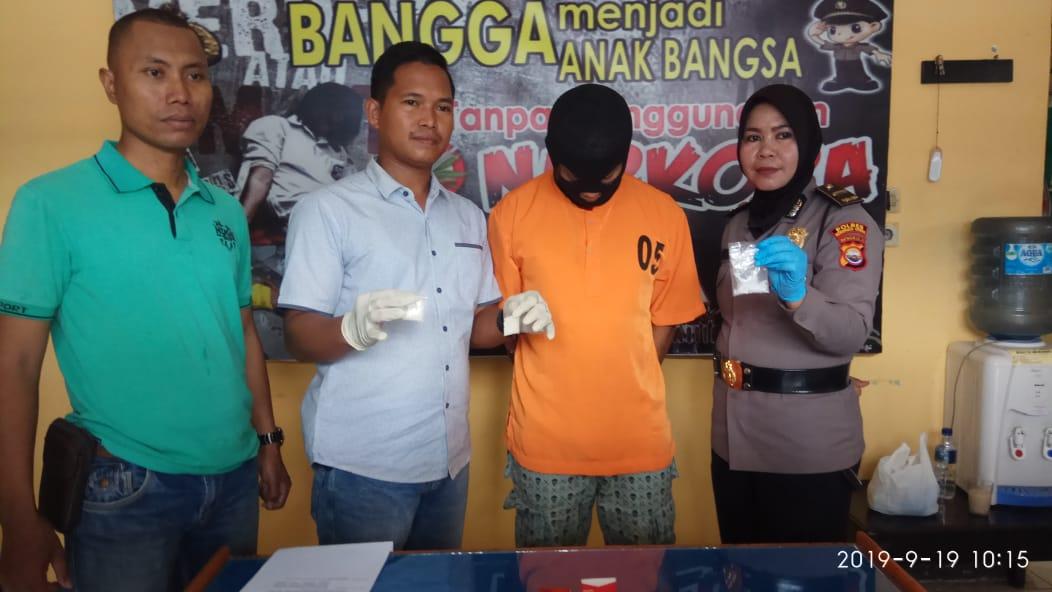 Miliki Shabu, Polres BU Tangkap Pemuda Padang Jaya