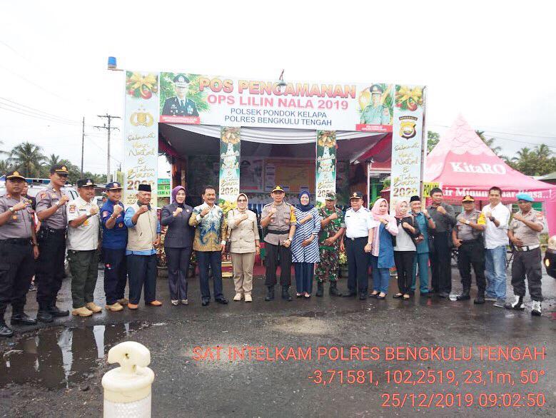 Pantau Perayaan Natal, FKPD Kabupaten Benteng Kunjungi Pospam dan Gereja