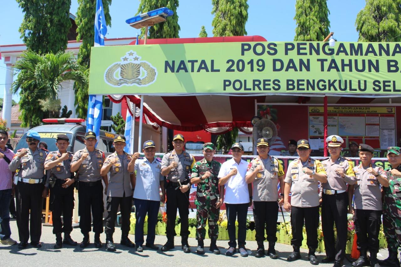 Kompak, Bupati Bersama Dandim dan Kapolres BS Sambut Kunjungan Kapolda dan Rombongan