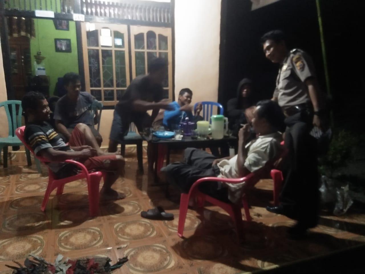 Jaga Situasi Kondusif, Anggota Polsek Seginim Laksanakan Patroli Dialogis