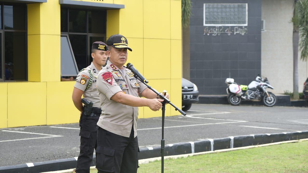 """Rencana Kunker Presiden RI, Polda Bengkulu """"All-out"""" Kerahkan 1000 Personil"""