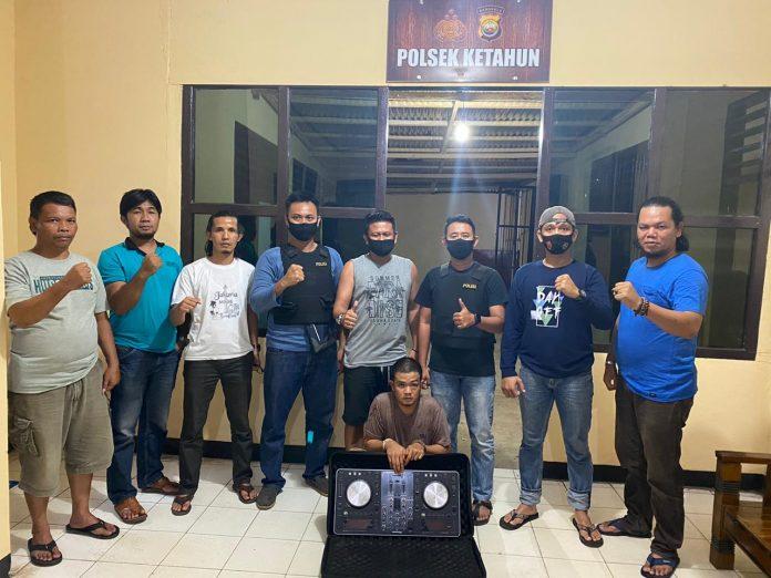 Jual Alat DJ Milik Warga Kerinci, Pemuda Ketahun Ditangkap Polisi
