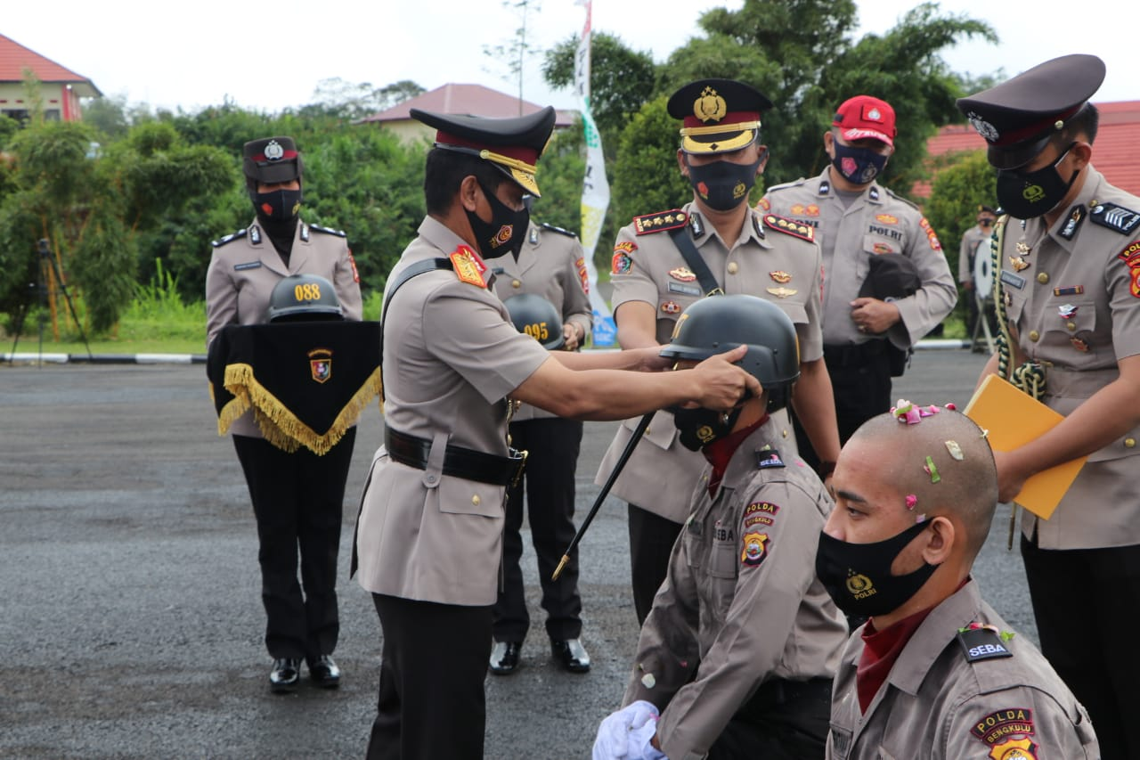 230 Siswa Bintara Polri Polda Bengkulu Resmi Jalani Pendidikan