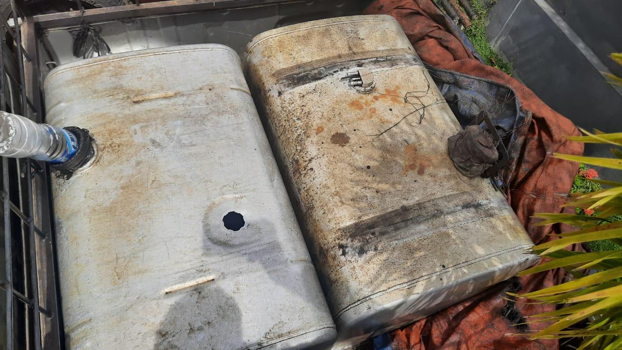 Polda Bengkulu Tangkap 2 Warga Ketahun Pelaku penimbun bbm