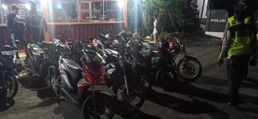 Razia Bali, Polres BS Amankan 18 Kendaraan