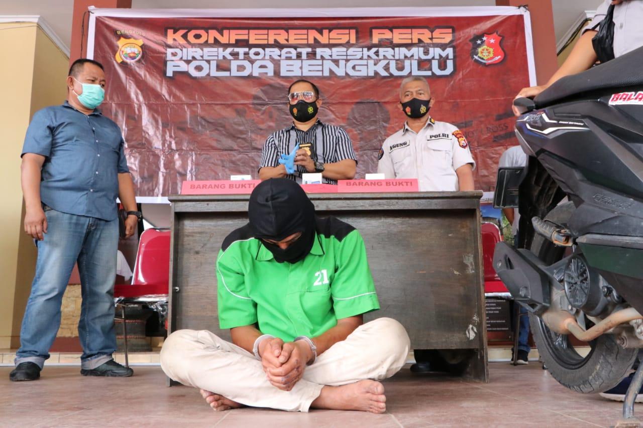 Sempat Viral, Pemuda Terekam CCTV Bobol Rumah Warga Kebun Beler di Bekuk Tim Jatanras Polda Bengkulu