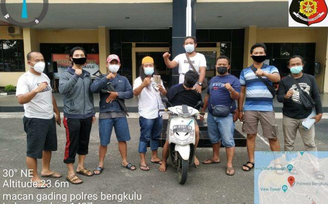 Bobol Indomaret, Warga Kepahiang dan BB Uang Puluhan Juta Diamankan Tim Macan Gading Polres Bengkulu