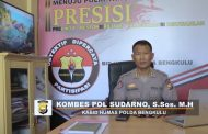 "Kabid Humas Polda Bengkulu; ""Pelintas Batas Yang Putar Balik Alami Penurunan"""