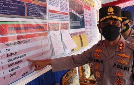 Pantau Posko Perbatasan Air Tenam, Kapolda Bengkulu Minta Personil Pahami Job Deskripsi