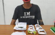 Beli Ganja Lewat FB, Pemuda Sukarami Ditangkap Polisi
