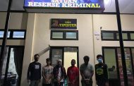 4 Pelaku Ilegal Loging Ditangkap, Ratusan Batang Kayu Diamankan