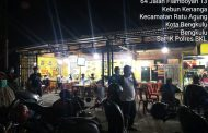 Polres Bengkulu Lakukan KRYD Dalam Rangka PPKM