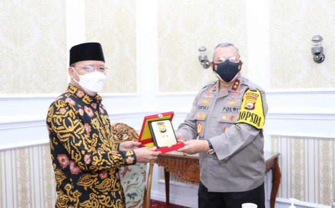 Perkuat Sinergi, Kapolda Bengkulu Kembali Silahturahmi Ke Gubernur Bengkulu