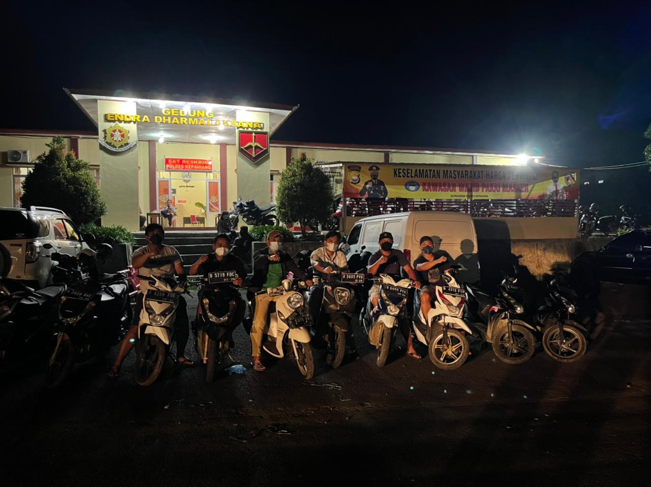 Angkut Motor Bodong, Warga RL dan Lampung Selatan Ditangkap Polisi