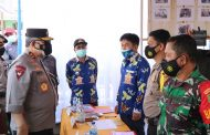 Bersama Forkopimda, Kapolda Bengkulu Pantau Pos Penyekatan PPKM Perbatasan Kepahiang