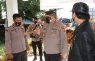 Kunjungi MM, Kapolda Bengkulu Pantau Pos PPKM Desa Ujung Pandang dan Bandar Ratu